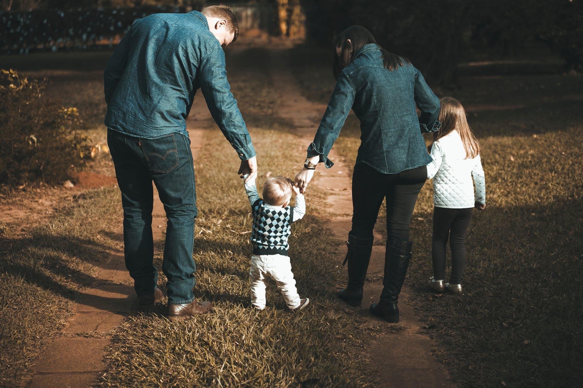 štastná rodina