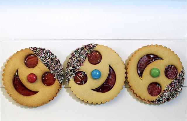 veselé koláčky