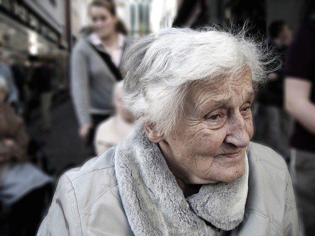 paní důchodkyně