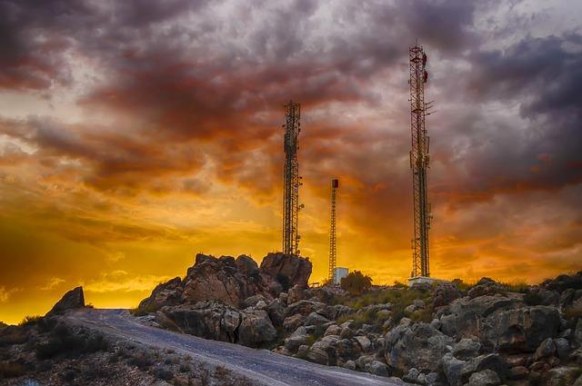 Telekomunikační vysílače