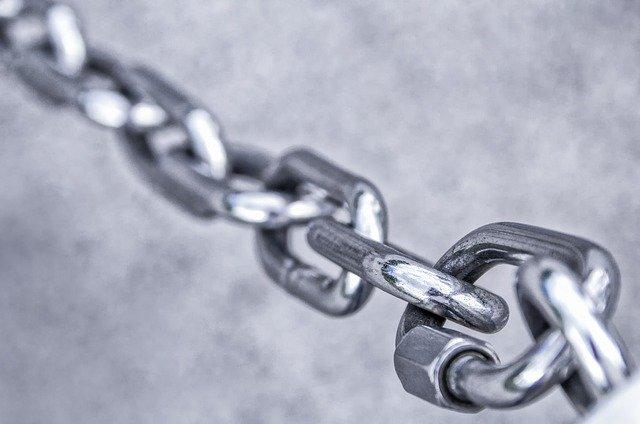 Nerezový řetěz